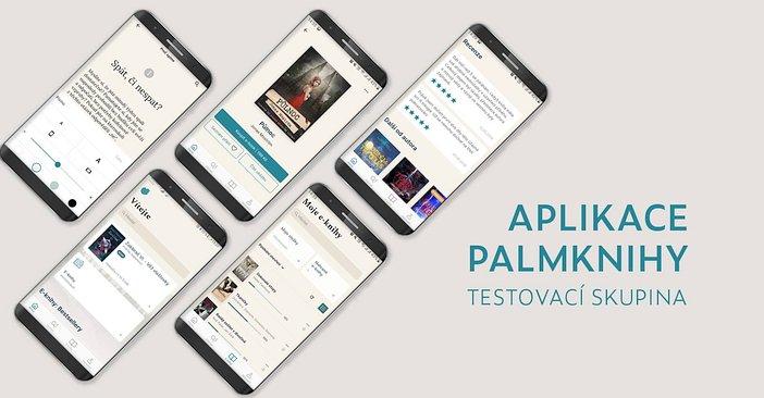 Testovací skupina aplikace Palmknihy