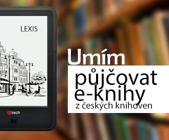 Čtečka C-TECH Lexis EBR-61 s podporou půjčování e-knih z českých knihoven